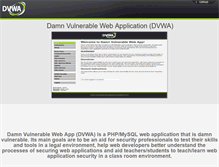 Tablet Preview of dvwa.co.uk